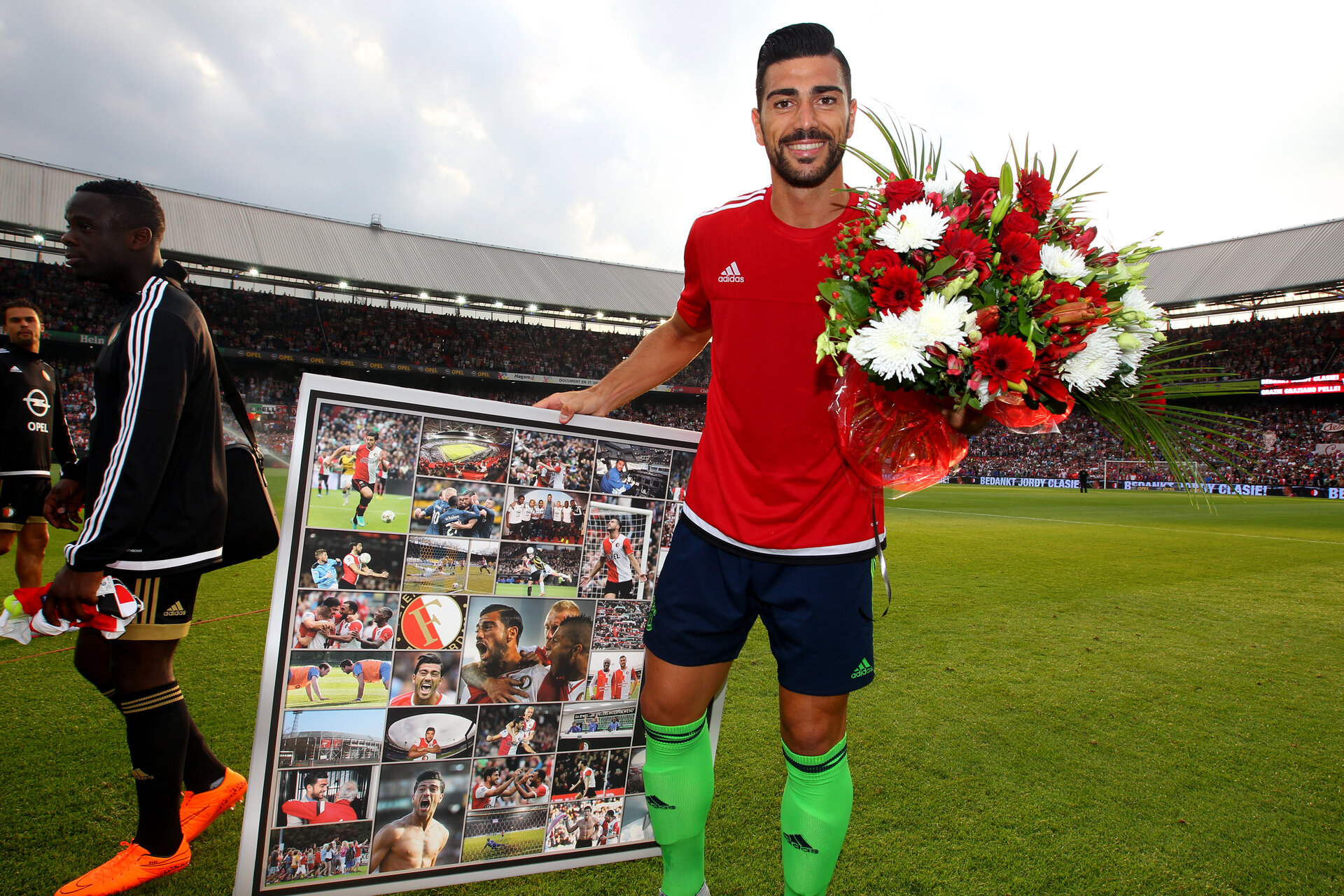 Graziano Pelle during pre-season friendly between Feyenoord and Southampton FC, De Kuip, Rotterdam, Netherlands, 23 July 2015.