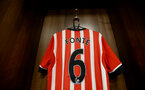 The shirt of Jose Fonte during the Premier League match between Leicester City and Southampton at the King Power Stadium, Leicester, England on 2 October 2016. Photo by Matt  Watson/SFC/Digital South.