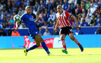 Oriol Romeu during the Premier League match between Leicester City and Southampton at the King Power Stadium, Leicester, England on 2 October 2016. Photo by Matt  Watson/SFC/Digital South.