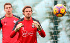 Stuart Taylor during a Southampton FC training session at the Staplewood Campus, Southampton, 28th October 2016