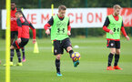 Steven Davis during a Southampton FC training session at the Staplewood Campus, Southampton, 28th October 2016
