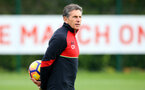 Claude Puel during a Southampton FC training session at the Staplewood Campus, Southampton, 28th October 2016