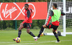 Cuco Martina during a Southampton FC training session at the Staplewood Campus, Southampton, 28th October 2016
