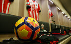 Premier League footballs for winter during the Premier League match between Southampton and Chelsea at St Mary's Stadium, Southampton, England on 30 October 2016. Photo by Matt Watson/SFC/Digital South.