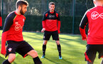 Steven Davis during a Southampton FC training session at the Staplewood Campus, Southampton, 29th November 2016