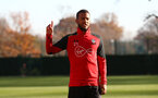 Ryan Bertrand during a Southampton FC training session at the Staplewood Campus, Southampton, 29th November 2016