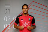 Video: van Dijk wins Player of the Month