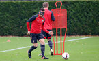 Dusan Tadic during a Southampton FC training session at The Staplewood Campus, 7th December 2016
