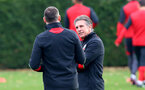 Claude Puel during a Southampton FC training session at The Staplewood Campus, 7th December 2016