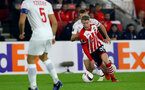 Josh Sims during the UEFA Europa League match between Southampton and Hapoel Be'er Sheva F.C. at St Mary's Stadium, Southampton, England on 8 December 2016. Photo by Matt Watson/SFC/Digital South.