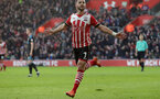 Shane Long (Southampton) celebrates making it 1-0 during the Premier League match between Southampton and West Bromwich Albion at St Mary's Stadium, Southampton, England on 31 December 2016.