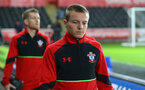 Jordy Clasie during the Premier League match between Swansea City and Southampton at the Liberty Stadium, Swansea, Wales on 31 January 2017. Photo by Matt Watson/SFC/Digital South.