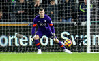 Fraser Forster during the Premier League match between Swansea City and Southampton at the Liberty Stadium, Swansea, Wales on 31 January 2017. Photo by Matt Watson/SFC/Digital South.