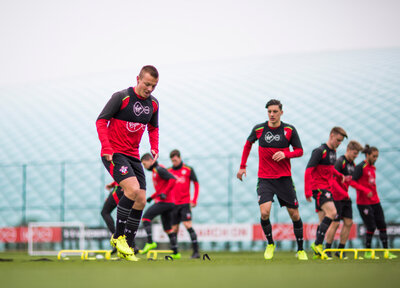 Gallery: Training continues despite international break