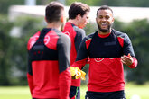 Gallery: Saints build up to Liverpool