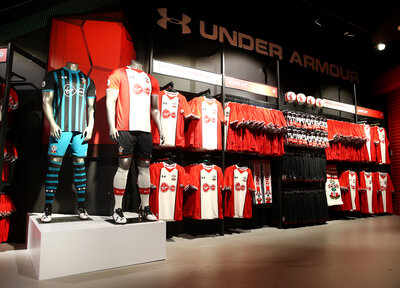 25% off replica kit in Saints stores