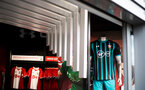 during the store opening on the first day of sale of the new season kit for the 2017/18 season at St Mary's, Southampton, England on 30th June 2017. Photo by Naomi Baker/SFC/Digital South.
