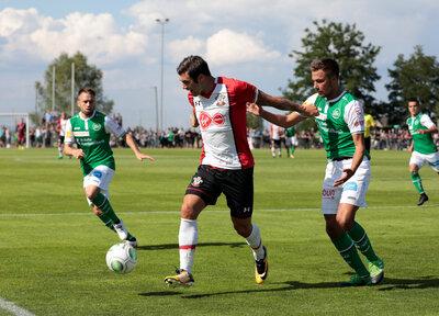 Gallery: St Gallen vs Saints