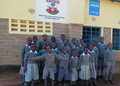 Saints fans raise vital funds for Kenyan children