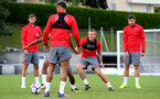 Jordy Clasie during a Southampton FC pre-season training session, in Evian, France, 28th July 2017