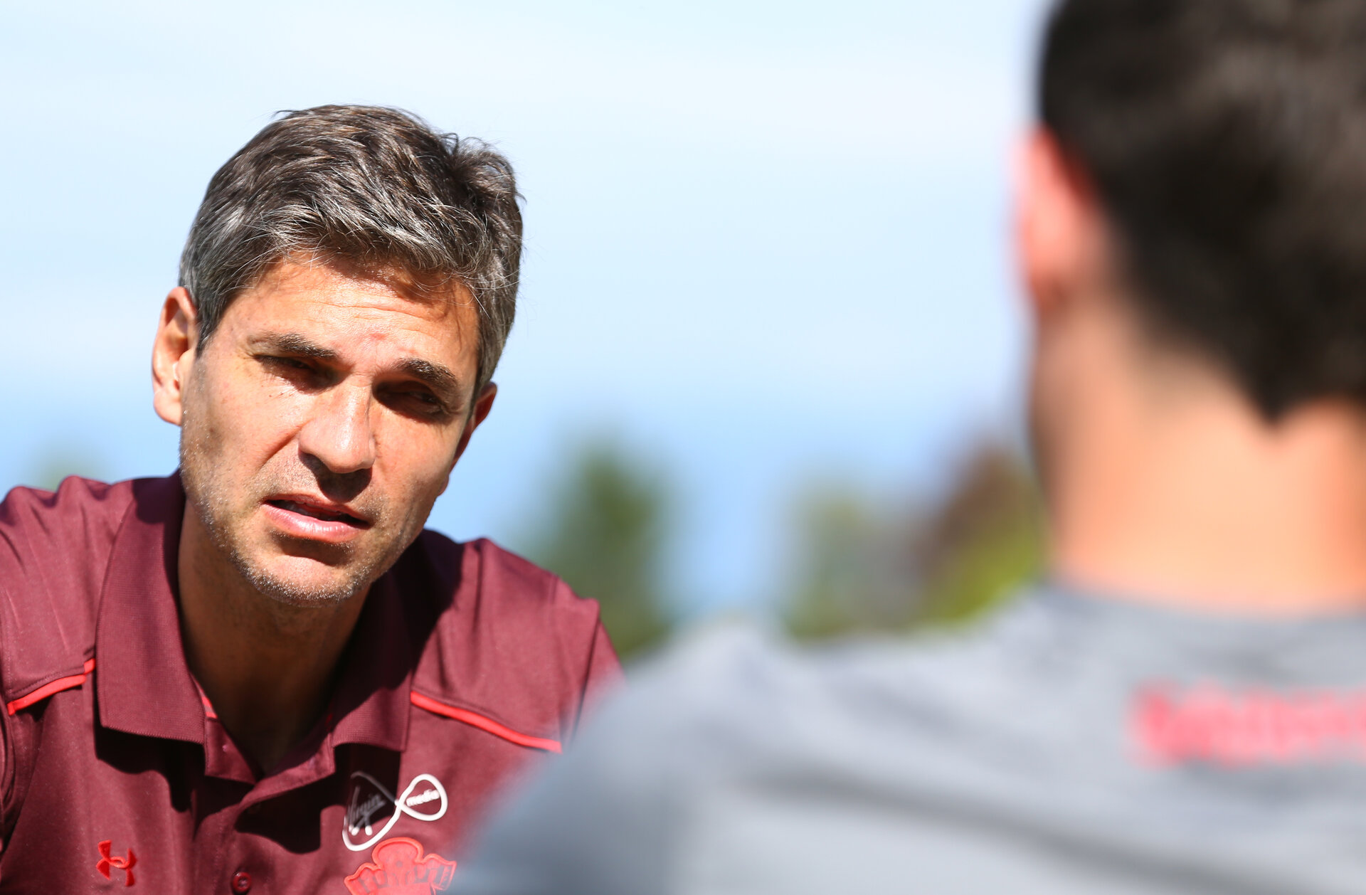 Mauricio Pellegrino pictured during a Southampton FC pre-season training camp, in Evian, France, 28th July 2017, for Saints magazine