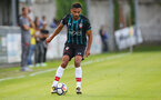 Sofiane Boufal during a pre season friendly between St Etienne(white) and Southampton FC(black), at The Stade Municipal de Chambéry, France, 29th July 2017