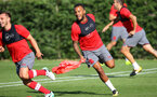Ryan Bertrand during a Southampton FC pre season training session at the Staplewood Campus, Southampton, 31st July 2017