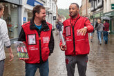 Gallery: Saints players sell The Big Issue