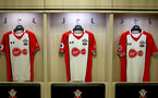 SOUTHAMPTON, ENGLAND - AUGUST 12: Inside the Southampton FC dressing room ahead of the Premier League match between Southampton and Swansea City at St Mary's Stadium on August 12, 2017 in Southampton, England. (Photo by Matt Watson/Southampton FC via Getty Images)