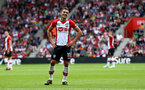 SOUTHAMPTON, ENGLAND - AUGUST 12: Southampton's Dusan Tadic during the Premier League match between Southampton and Swansea City at St Mary's Stadium on August 12, 2017 in Southampton, England. (Photo by Matt Watson/Southampton FC via Getty Images)