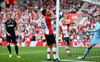 Maya Yoshida rues his miss. Southampton v Swansea City, Premier League, St Mary's Stadium.         Picture: Chris Moorhouse 07932 522561