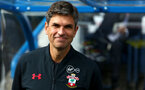 HUDDERSFIELD, ENGLAND - AUGUST 26:Mauricio Pellegrino during the Premier League match between Huddersfield Town and Southampton at the John Smith Stadium on August 26, 2017 in Huddersfield, England. (Photo by Matt Watson/Southampton FC via Getty Images)