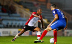 Tyreke Johnson during the Check a Trade Trophy group stage match between Peterborough United and Southampton FC U21, at ABAX Stadium, Peterborough, 29th August 2017