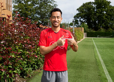 Maya Yoshida named August Player of the Month