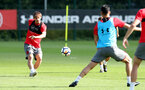 SOUTHAMPTON, ENGLAND - SEPTEMBER 19: Manolo Gabbiadini during a Southampton FC training session at the Staplewood Campus on September 19, 2017 in Southampton, England. (Photo by Matt Watson/Southampton FC via Getty Images)