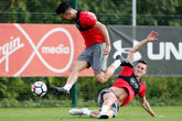 Gallery: Saints ready themselves for United
