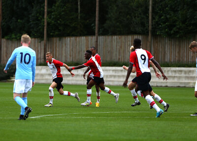 U18 Gallery: Saints 3-0 Man City