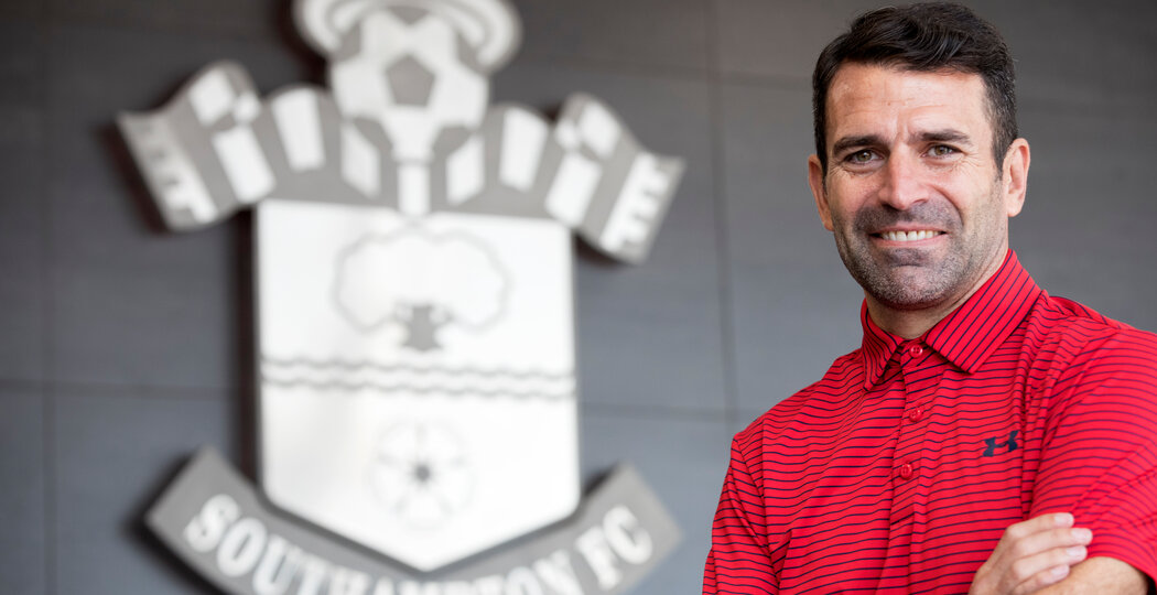 Former Saint Francis Benali pictured at St Mary's Stadium, Southampton, for Southampton FC's Saints magazine, 20th September 2017