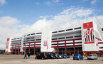 STOKE ON TRENT, ENGLAND - SEPTEMBER 30: General view ahead of the Premier League match between Stoke City and Southampton at the Bet365 Stadium on September 30, 2017 in Stoke on Trent, England. (Photo by Matt Watson/Southampton FC via Getty Images)