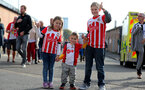 SOUTHAMPTON, ENGLAND - OCTOBER 15: Saints fans ahead of the Premier League match between Southampton and Newcastle United at St Mary's Stadium on October 15, 2017 in Southampton, England. (Photo by Matt Watson/Southampton FC via Getty Images)
