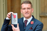 Davis receives MBE