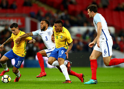 Bertrand helps shut out Brazil