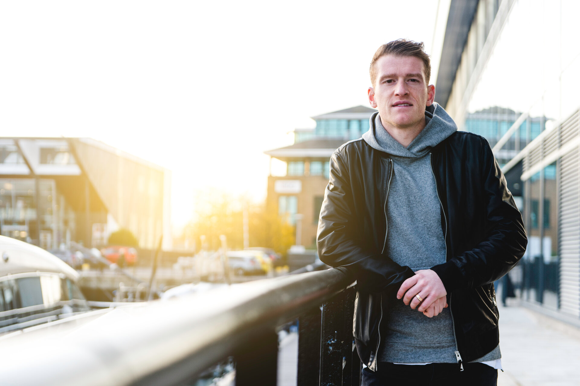 SOUTHAMPTON, ENGLAND - NOVEMBER 22: Steven Davis match day magazine shoot at the Harbour Hotel, Southampton on November 22, 2017 in Southampton, England. (Photo by James Bridle - Southampton FC/Southampton FC via Getty Images)