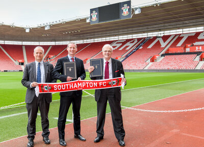 Saints link up with University of Southampton