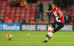 SOUTHAMPTON, ENGLAND - DECEMBER 13: Southampton's Nathan Redmond during the Premier League match between Southampton and Leicester City at St Mary's Stadium on December 13, 2017 in Southampton, England. (Photo by Matt Watson/Southampton FC via Getty Images)