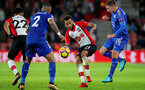SOUTHAMPTON, ENGLAND - DECEMBER 13: Southampton's Ryan Bertrand during the Premier League match between Southampton and Leicester City at St Mary's Stadium on December 13, 2017 in Southampton, England. (Photo by Matt Watson/Southampton FC via Getty Images)