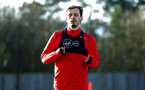 SOUTHAMPTON, ENGLAND - DECEMBER 28: Manolo Gabbiadini during a Southampton FC training session at Staplewood Complex on December 28, 2017 in Southampton, England. (Photo by James Bridle - Southampton FC/Southampton FC via Getty Images)