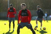 Video: Saints train ahead of United