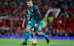 MANCHESTER, ENGLAND - DECEMBER 30: Southampton's Sam McQueen during the Premier League match between Manchester United and Southampton at Old Trafford on December 30, 2017 in Manchester, England. (Photo by Matt Watson/Southampton FC via Getty Images)