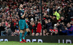 MANCHESTER, ENGLAND - DECEMBER 30: Southampton's Shane Long after a missed opportunity during the Premier League match between Manchester United and Southampton at Old Trafford on December 30, 2017 in Manchester, England. (Photo by Matt Watson/Southampton FC via Getty Images)